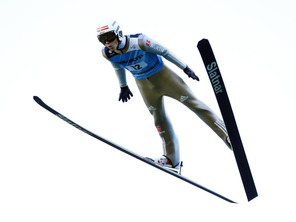 Constantin Schmid steht vor seinem dritten Weltcup-Einsatz