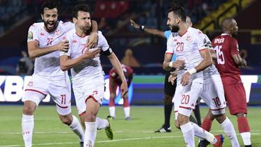 Túnez fue muy superior a su rival.