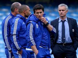 Mourinho ha renovado a sus auxiliares para su nueva aventura.