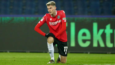 Glaubt weiter an den Aufstieg mit Hannover 96: Marvin Ducksch