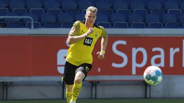 BVB-Stürmer Steffen Tigges soll in den Fokus des 1. FC Köln gerückt sein