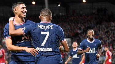 Paris Saint-Germain siegt - noch ohne Messi - in Brest