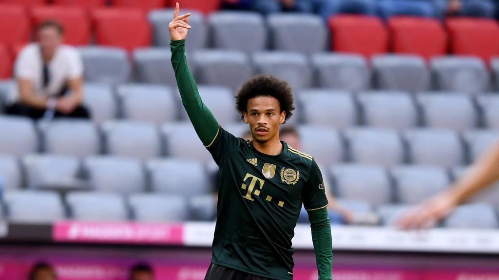Leroy Sané blüht beim FC Bayern auf