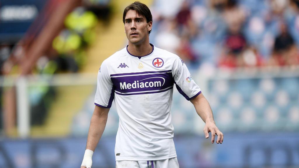 Dusan Vlahovic gilt als Alternative für BVB-Star Erling Haaland