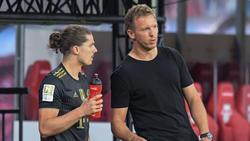 Gingen von RB Leipzig zum FC Bayern: Marcel Sabitzer und Julian Nagelsmann