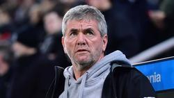 Friedhelm Funkel steht mit Fortuna Düsseldorf unter Druck