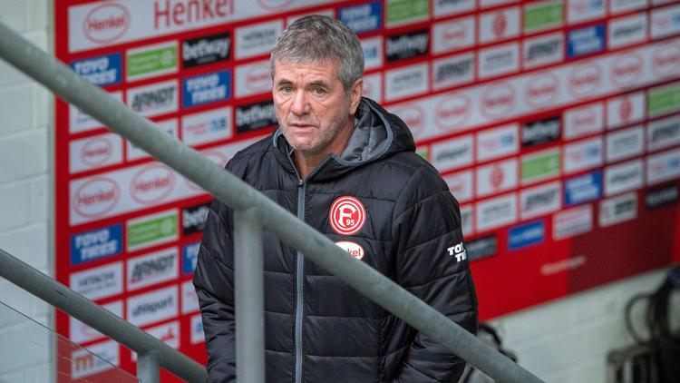 Friedhelm Funkel wurde bei Fortuna Düsseldorf von seinen Aufgaben entbunden