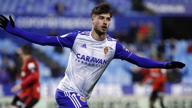 Puado marcó el segundo gol del Zaragoza.