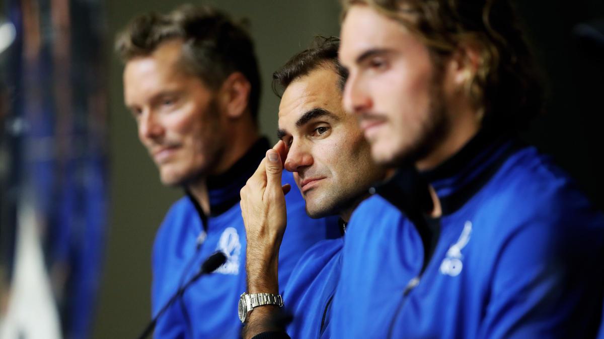 Roger Federer (M.) hat den Laver Cup ins Leben gerufen