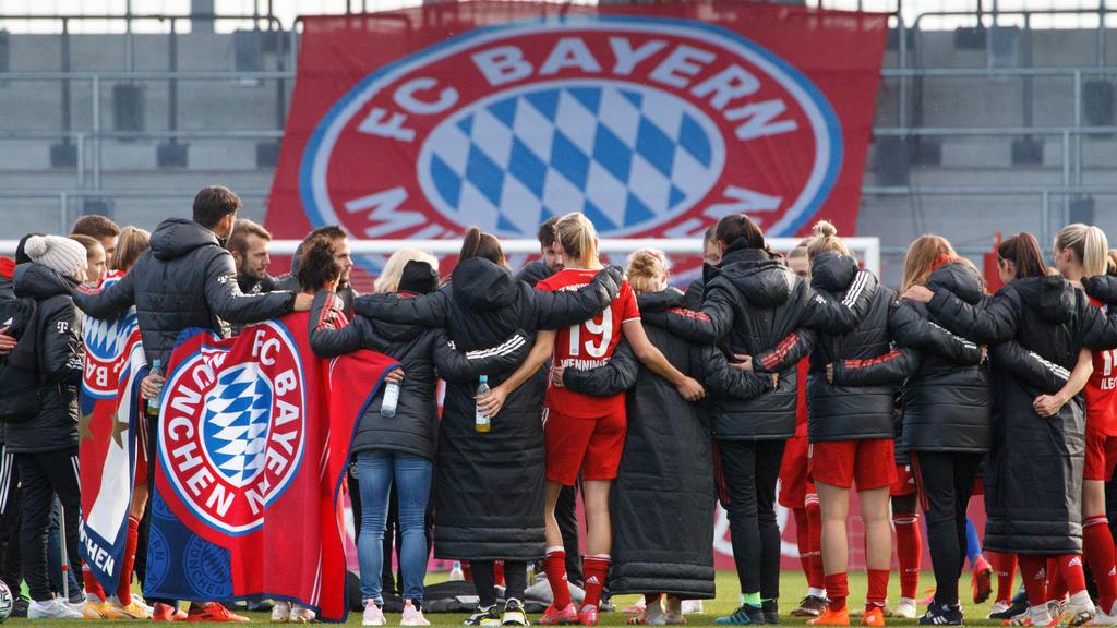 Die Fußballerinnen des FCBayern München sind in das DFB-Pokal-Achtelfinale eingezogen