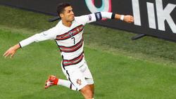 Ronaldo war wieder einmal Portugals Mann des Tages