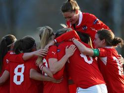 Im April feierten die ÖFB-Frauen einen Sieg gegen Australien, die Nummer 10 der Weltrangliste