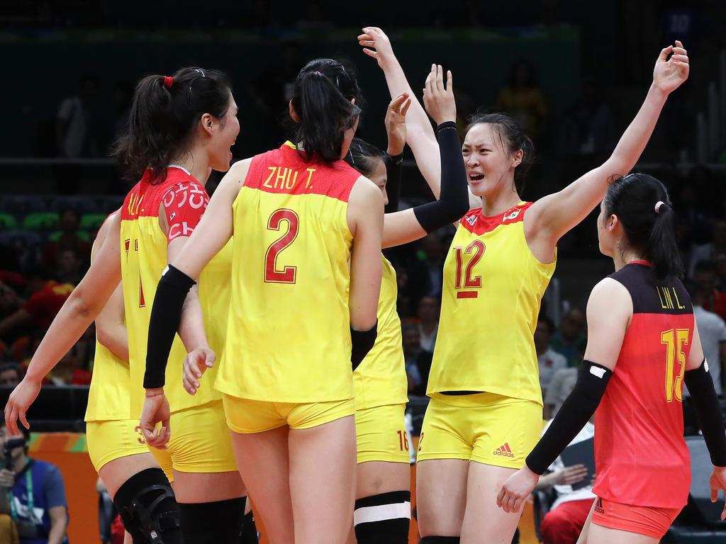 Chinas Damen sind Olympiasieger