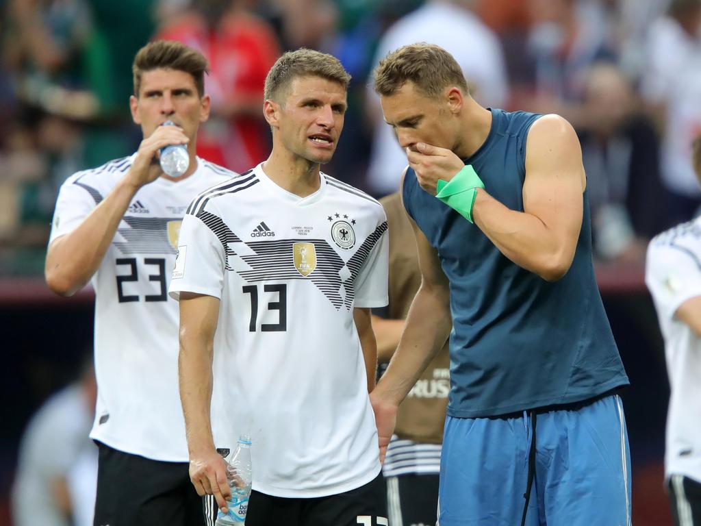 Thomas Müller und Manuel Neuer gehören zum