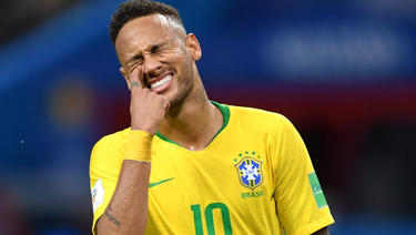 Neymar zog bei der WM Unmut auf sich