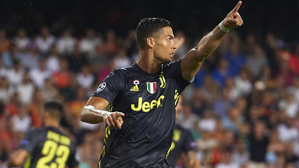 Cristiano Ronaldo erzielte den ersten Treffer für Juventus Turin