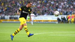 Paco Alcácer volvió a marcar, esta vez en Stuttgart. (Foto: Getty)