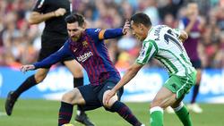 Lionel Messi erzielte beim Comeback zwei Tore