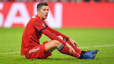 Robert Lewandowski fällt mit einer Knieverletzung aus