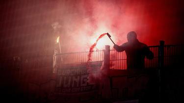 Während des Spiels der Münchner beim BVB wurden Pyros gezündet