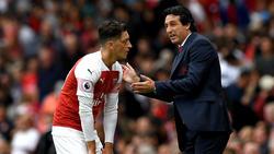 Unai Emery will Mesut Özil offenbar loswerden