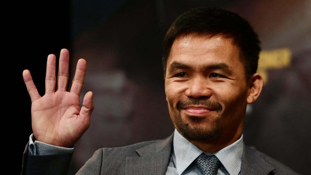 Manny Pacquiao feierte seinen 40. Geburtstag groß