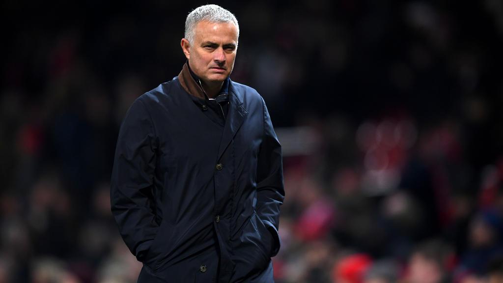 José Mourinho stürzte aufs harte Eis