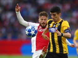 Im Spiel gegen Ajax kam es zu Krawallen