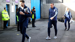 Kane a su llegada al estadio Turf Moor. (Foto: Getty)