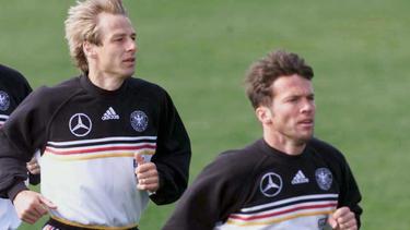 Klinsmann und Matthäus kennen sich noch aus gemeinsamen Zeiten beim DFB