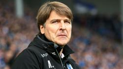Verlor mit seinem Team erneut: Magdeburgs Trainer Michael Oenning