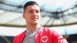 Luka Jovic kann sich einen Wechsel in eine andere Liga durchaus vorstellen