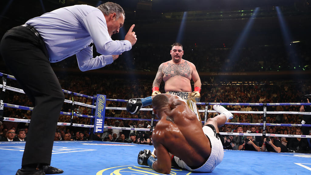 Andy Ruiz jr. hat Anthony Joshua bezwungen