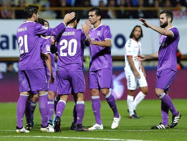 Eliminatoria del Real Madrid contra la Cultural Leonesa en 2017. (Foto: Imago)