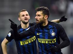 Candreva lleva al Inter a cuartos de Coppa. (Foto: Getty)