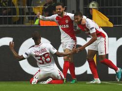 Monaco schlug den BVB in einem fragwürdigen Spiel