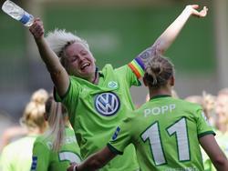 Die Frauen des VfL Wolfsburg greifen nach dem Double