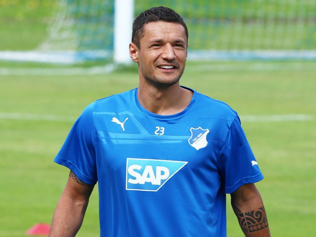 Sejad Salihović (hier ein Bild aus dem Jahr 2015) hält sich derzeit bei der TSG fit