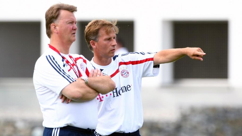Andries Jonker (r.) und Louis van Gaal setzten beim FC Bayern verstärkt auf den Nachwuchs