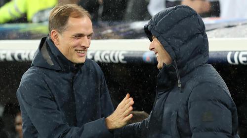 Thomas Tuchel (l.) wird angeblich nicht Trainer des FC Bayern