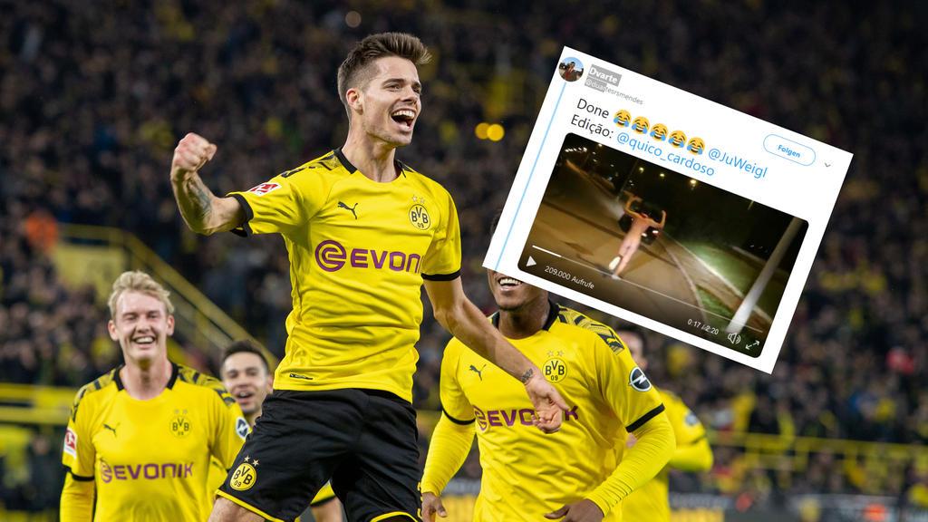 Ein Fan von Julian Weigl löste sein Versprechen ein