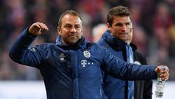 Hansi Flick und der FC Bayern setzten sich gegen Freiburg durch