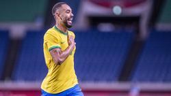 Matheus Cunha hat bei Olympia schon zweimal für Brasilien getroffen