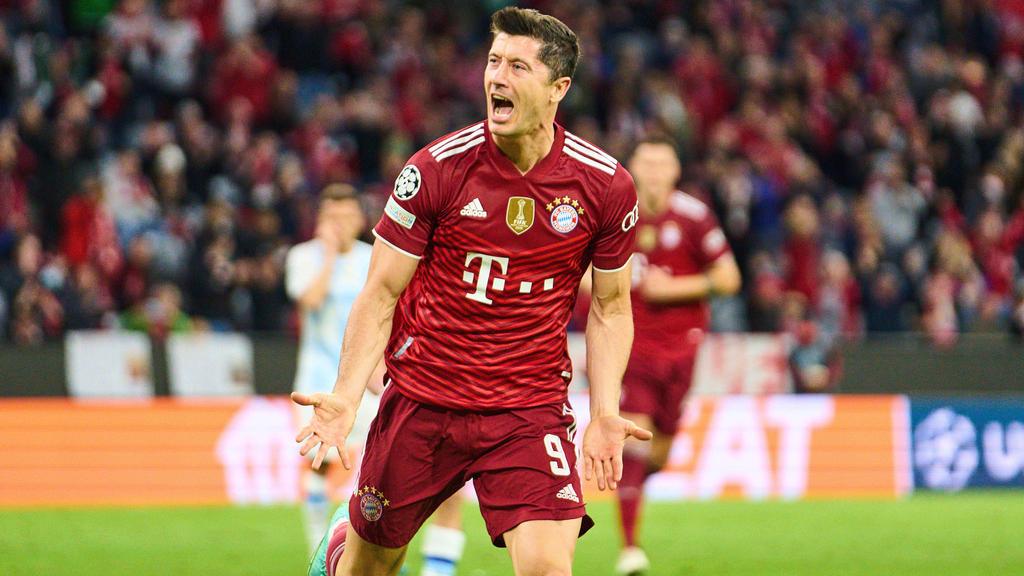 Robert Lewandowski vom FC Bayern darf sich berechtigte Hoffnungen auf den Ballon d'Or machen