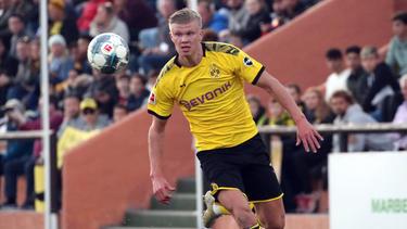 Erling Haaland gab gegen Mainz 05 sein Debüt für den BVB
