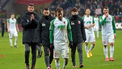 Der FC Augsburg verlor bei Eintracht Frankfurt mit 0:5