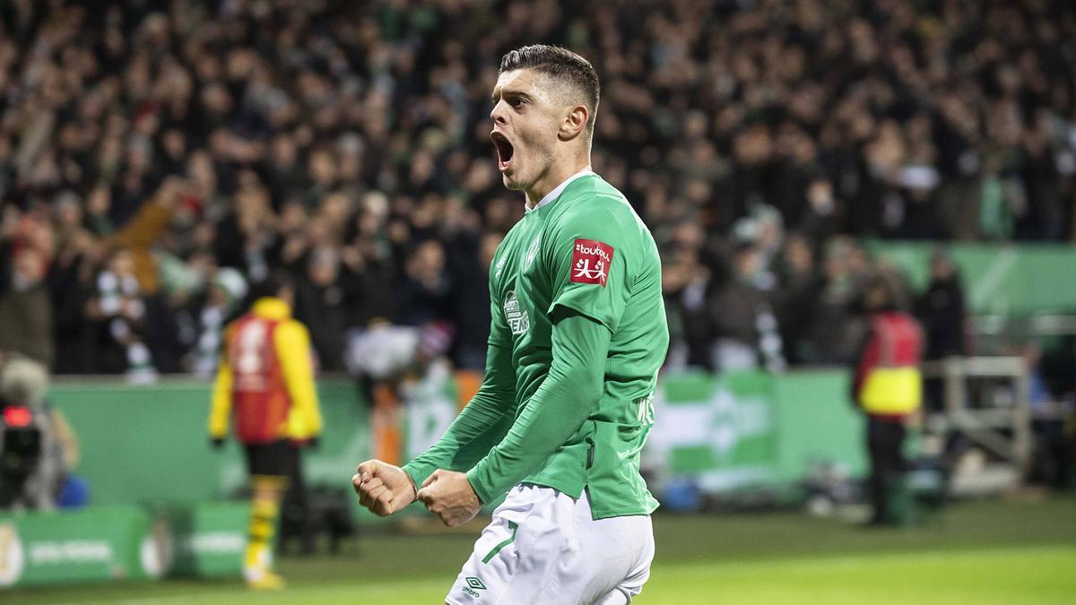Wird von europäischen Tobklubs umworben: Milot Rashica von Werder Bremen