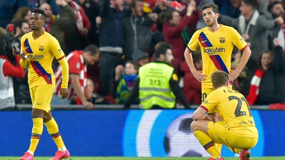 Lange Gesichter beim FC Barcelona