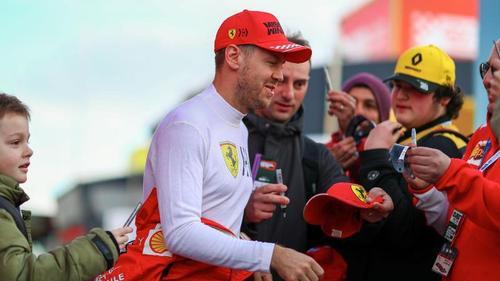 Beliebt bei den Formel-1-Fans: Ferrari-Star Sebastian Vettel
