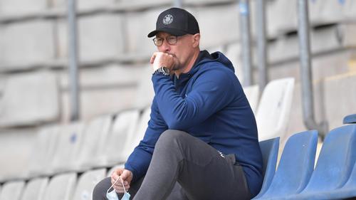 Wolfgang Wolf ist nicht länger Trainer bei Lok Leipzig